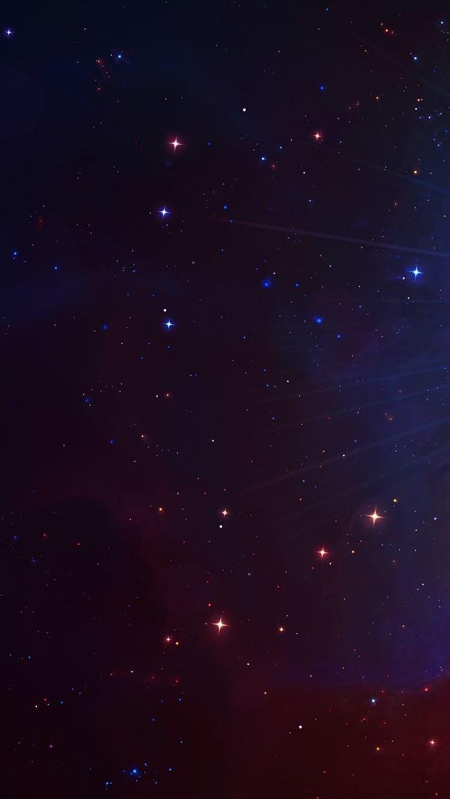 Beautiful Colourful Galaxy IPhone Se Wallpaper