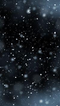 Snow flying iPhone se wallpaper