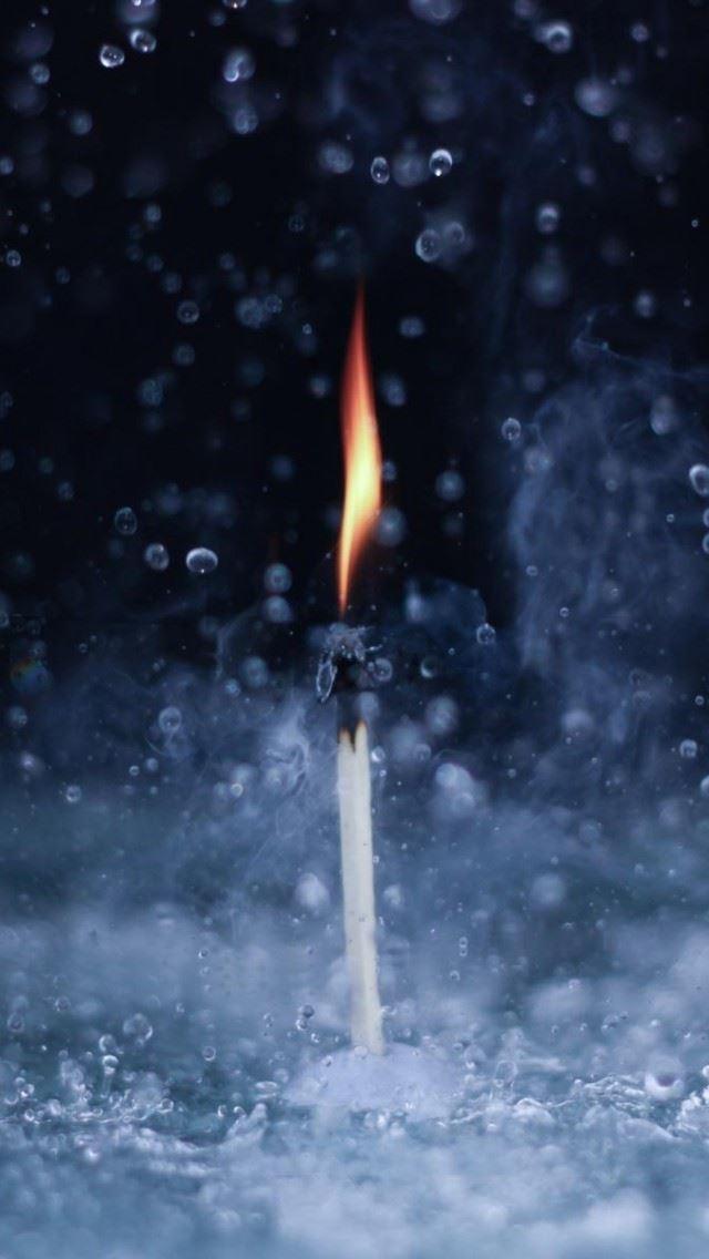 Fire In The Rain IPhone Se Wallpaper