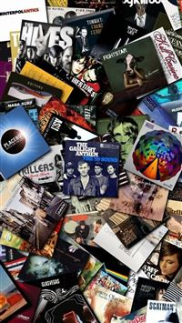 7785 83 Music Cds Collection IPhone Se Wallpaper