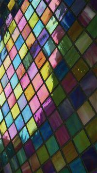 Mosaic pattern background iPhone se wallpaper