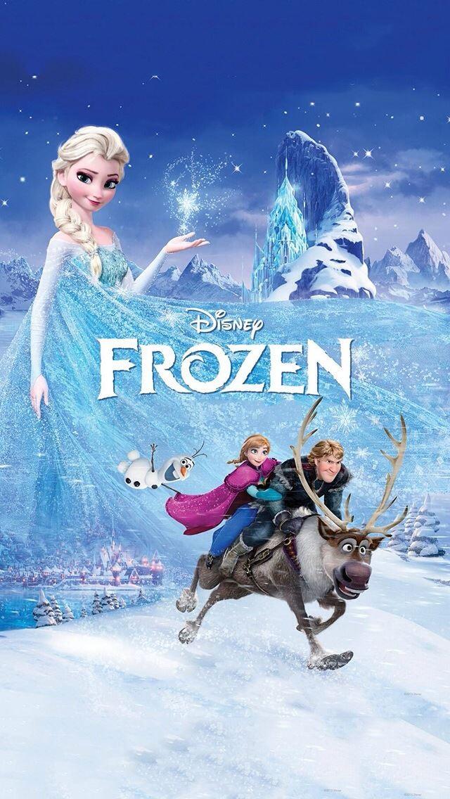 Entertainment Frozen Disney IPhone Se Wallpaper