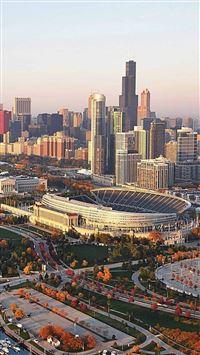 Chicago iPhone se wallpaper