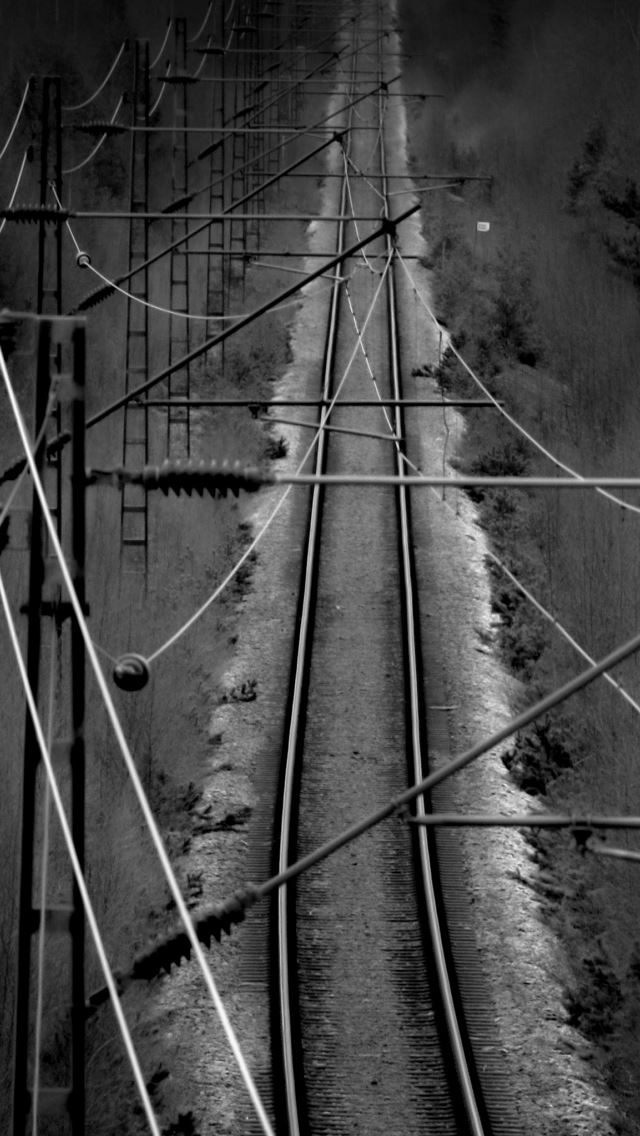 Railtrack iPhone se wallpaper
