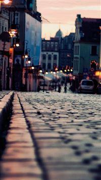 Evening city iPhone 5(s/c)~se wallpaper