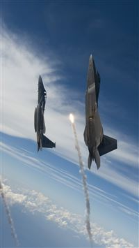Jet Flying To Space iPhone se wallpaper