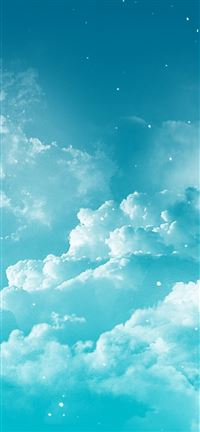 Fantasy Cloudy Space iPhone 5(s/c)~se wallpaper