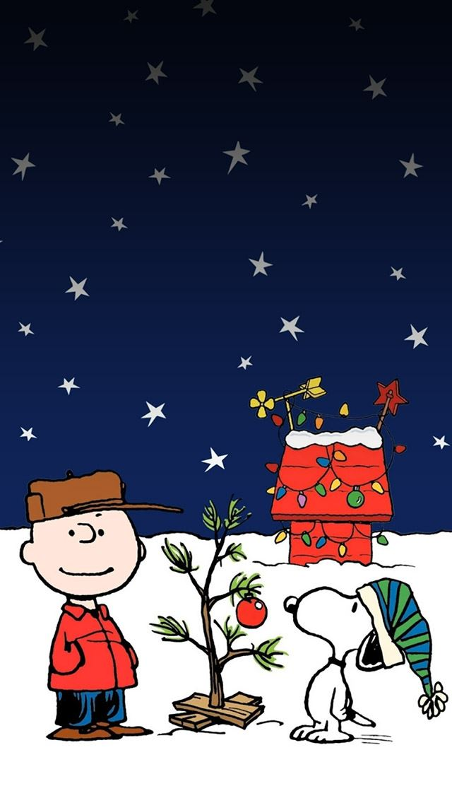 Snoopy Christmas Holiday IPhone Se Wallpaper