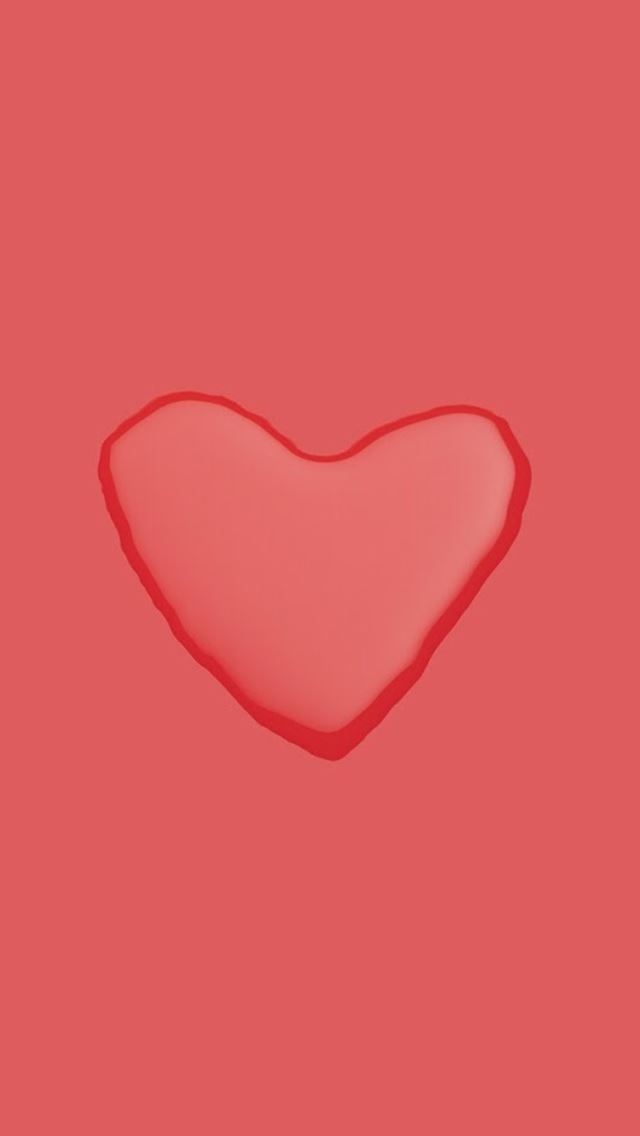 Love Heart Water Drop Background IPhone Se Wallpaper