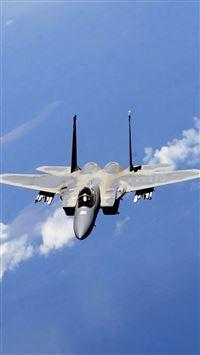 F-15 Eagle Fighter iPhone se wallpaper