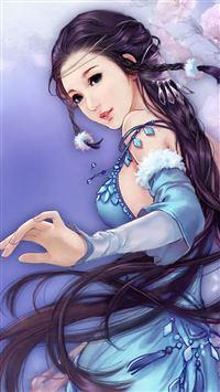 Moon Shadow Legend Ancient Beauty iPhone se wallpaper