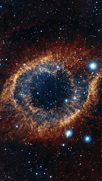 Eye Of Space Star Galaxy iPhone 5(s/c)~se wallpaper