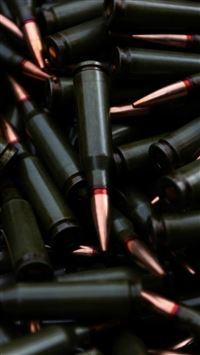 Military Bullet Stack iPhone wallpaper