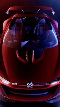 Pretty Volkswagen GTI Roadster Positive iPhone se wallpaper