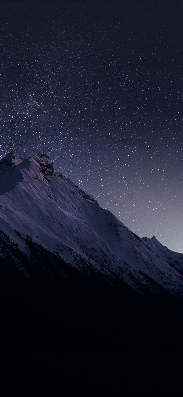 Most Inspiring Wallpaper Mountain Iphone Se - Mountain-Night-Snow-Dark-Star-iphone-se-parallax-wallpaper-ilikewallpaper_com  2018_463459.jpg