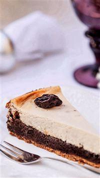 Delicious Chocolate Desert iPhone se wallpaper