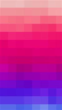 Rainbow Blue Mosaic Color Pattern iPhone se wallpaper