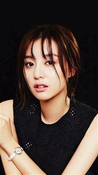 Kim Jiwon Dark Actress Beauty iPhone se wallpaper