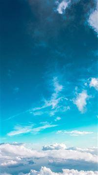 Sky Cloud Fly Blue Summer Sunny iPhone 5(s/c)~se wallpaper