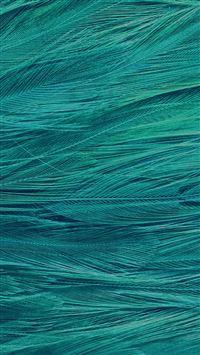 Feather Blue Bird Pattern iPhone 5(s/c)~se wallpaper