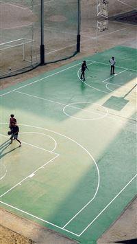 Basketball Green City Sports Art NBA iPhone se wallpaper