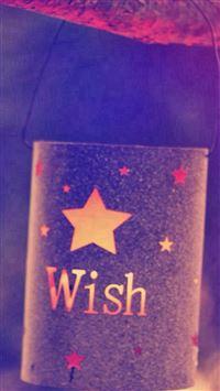 Quotes Wish Lights Dark iPhone se wallpaper