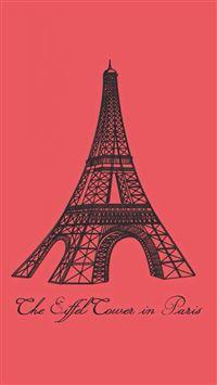 Eiffel Tower In Paris iPhone se wallpaper