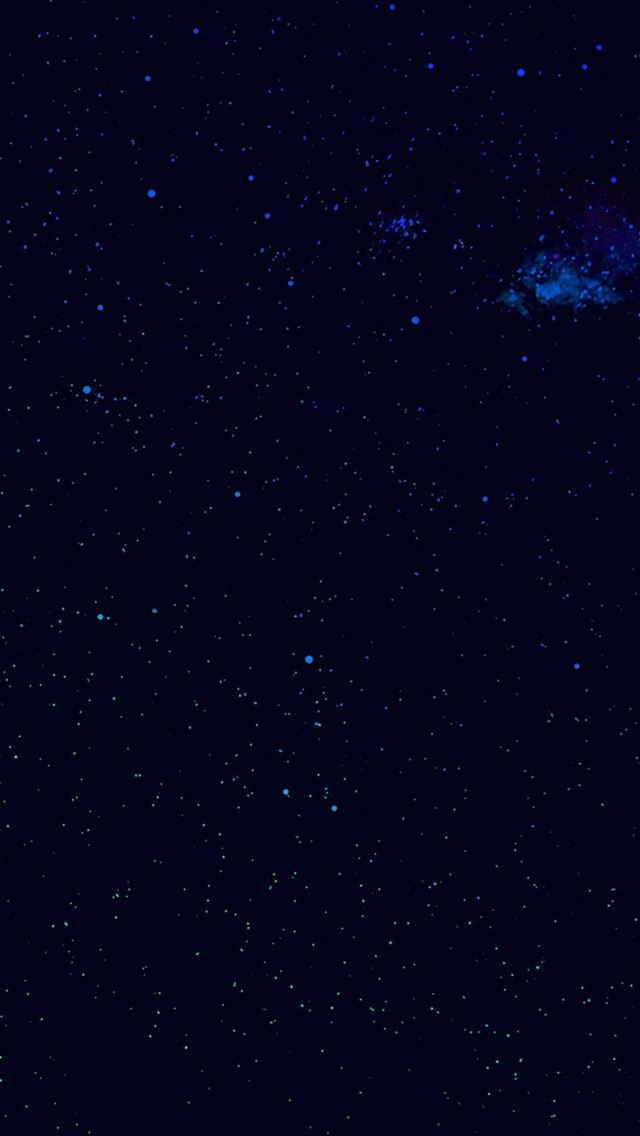 Night Sky Star Space Galaxy S6 Nature Blue IPhone Se Wallpaper