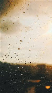548 0 Rain Window Day Sunlight Bokeh IPhone Se Wallpaper