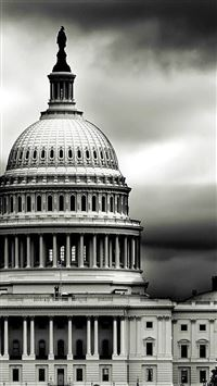 The Building Capitol In US iPhone se wallpaper