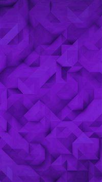 Polygon Art Purple Triangle Pattern iPhone se wallpaper
