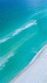Sea Blue Green Skyview Earth Summer iPhone se wallpaper