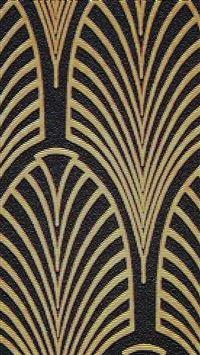 Art Deco Pattern Illustration Art iPhone se wallpaper