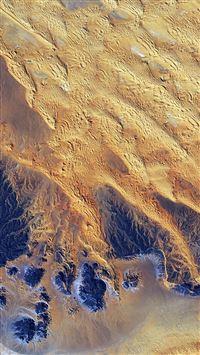 Sahara Desert Earthview Yellow Blue Pattern Nature iPhone se wallpaper