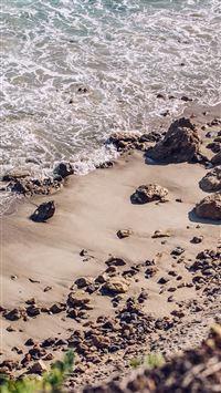 Sea Beach Nature Water Summer iPhone se wallpaper