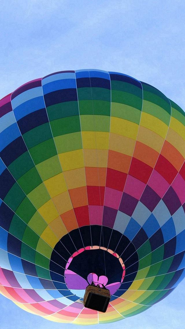 Color Air Balloon Sky Fun iPhone se wallpaper