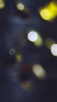 Bokeh Watch Yellow Blue Lights Pattern iPhone se wallpaper
