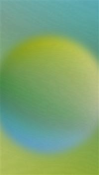 Green Circle Blur Gradation iPhone se wallpaper