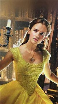 Emma Watson Beauty Beast Celebrity Film iPhone se wallpaper