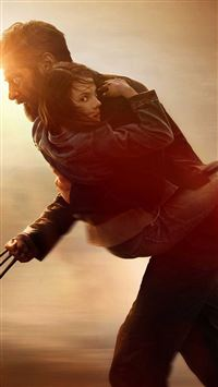 Movie Wolverine 3 Rogan Poster iPhone se wallpaper