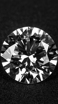 Daimond Dark Propose Illustration Art Bw Dark iPhone se wallpaper