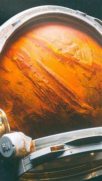 Space Digital Mars Illustration Art iPhone se wallpaper