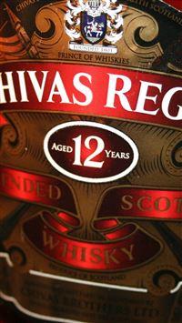 Chivas Regal Whiskey Bottle Logo Art iPhone se wallpaper