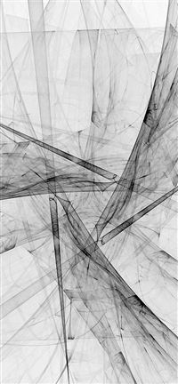 Triangle Art Abstract Bw White Pattern iPhone se wallpaper