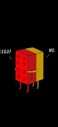 325 0 Funny LEGO Pieces Hugging IPhone Wallpaper