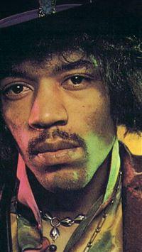 Jimi Hendrix Face Music Regae Artist iPhone 5(s/c)~se wallpaper