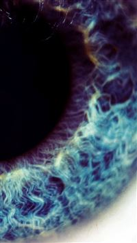 Macro Blue Eye iPhone se wallpaper