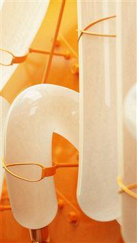Pump Tube Orange Pattern Background iPhone se wallpaper