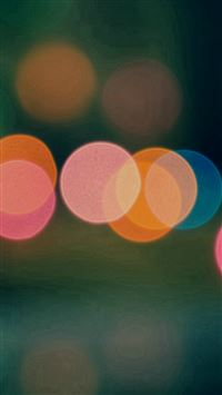 Light Bokeh Dark Blur Pattern iPhone se wallpaper
