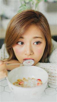 Girl Kpop Tzuyu Twice iPhone se wallpaper